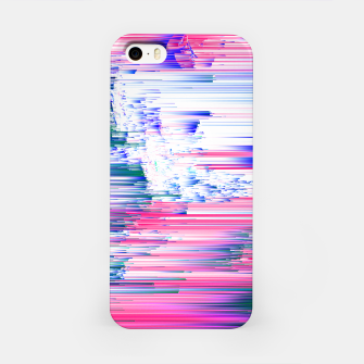 Miniatur Pastel 90s Glitch - Abstract Pixel Art iPhone Case, Live Heroes