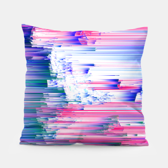 Miniatur Pastel 90s Glitch - Abstract Pixel Art Pillow, Live Heroes