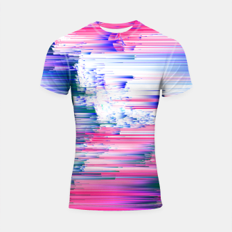 Miniatur Pastel 90s Glitch - Abstract Pixel Art Shortsleeve rashguard, Live Heroes