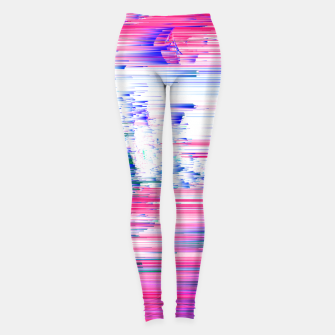 Miniatur Pastel 90s Glitch - Abstract Pixel Art Leggings, Live Heroes