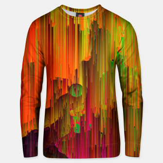 Thumbnail image of Radioactive - Abstract Glitchy Pixel Art Cotton sweater, Live Heroes