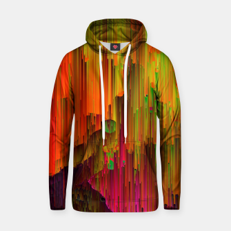 Thumbnail image of Radioactive - Abstract Glitchy Pixel Art Cotton hoodie, Live Heroes