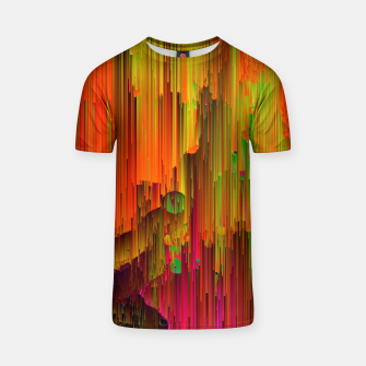Thumbnail image of Radioactive - Abstract Glitchy Pixel Art T-shirt, Live Heroes