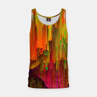 Thumbnail image of Radioactive - Abstract Glitchy Pixel Art Tank Top, Live Heroes