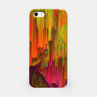 Thumbnail image of Radioactive - Abstract Glitchy Pixel Art iPhone Case, Live Heroes
