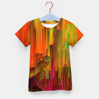 Thumbnail image of Radioactive - Abstract Glitchy Pixel Art Kid's t-shirt, Live Heroes