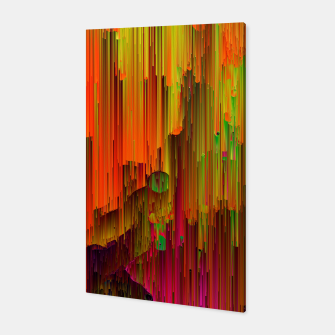 Thumbnail image of Radioactive - Abstract Glitchy Pixel Art Canvas, Live Heroes