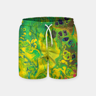 Miniatur Hazy Window Swim Shorts, Live Heroes