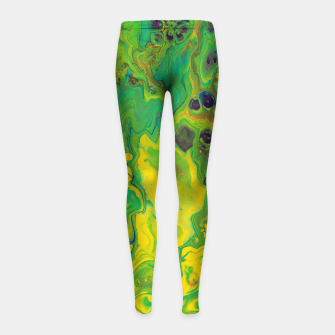 Miniatur Hazy Window Girl's leggings, Live Heroes