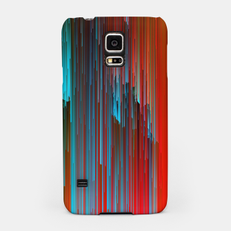 Thumbnail image of California Dreamin' - Abstract Glitchy Pixel Art Samsung Case, Live Heroes