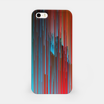 Thumbnail image of California Dreamin' - Abstract Glitchy Pixel Art iPhone Case, Live Heroes