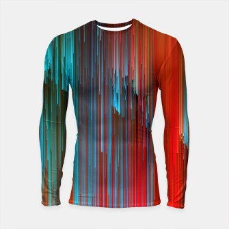 Miniaturka California Dreamin' - Abstract Glitchy Pixel Art Longsleeve rashguard , Live Heroes
