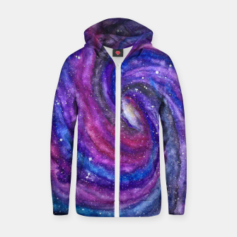 Thumbnail image of COSMOS2 Cotton zip up hoodie, Live Heroes