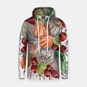 Thumbnail image of Autumn bouquet_1 Cotton hoodie, Live Heroes