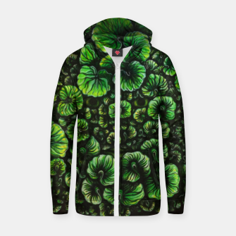 Thumbnail image of Soul of Nature Cotton zip up hoodie, Live Heroes