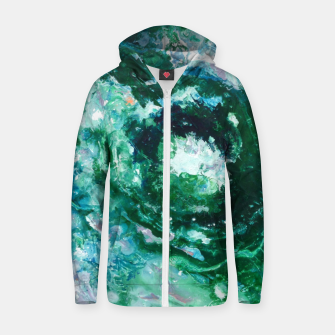 Thumbnail image of Unknown Worlds&Planet Cotton zip up hoodie, Live Heroes