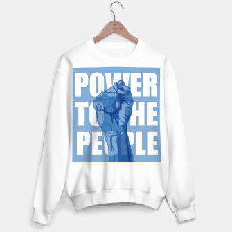 Thumbnail image of Power to the People Sweater regular, Live Heroes