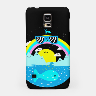 Rainbow World Samsung Case obraz miniatury