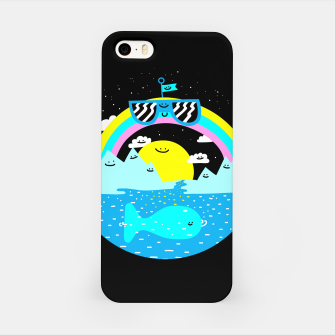 Rainbow World iPhone Case obraz miniatury