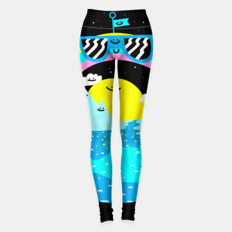 Rainbow World Leggings obraz miniatury