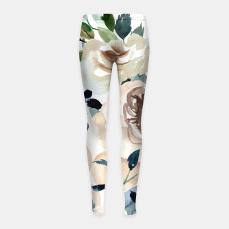 Thumbnail image of Sweet flowering Leggings para niña, Live Heroes