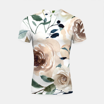 Thumbnail image of Sweet flowering Shortsleeve rashguard, Live Heroes