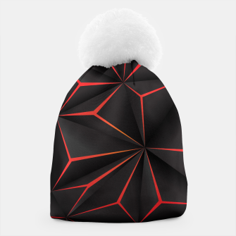 Thumbnail image of Futuristic Triangulation Beanie, Live Heroes