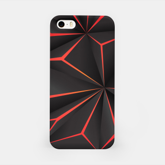 Thumbnail image of Futuristic Triangulation iPhone Case, Live Heroes