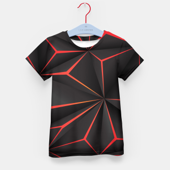 Thumbnail image of Futuristic Triangulation Kid's t-shirt, Live Heroes