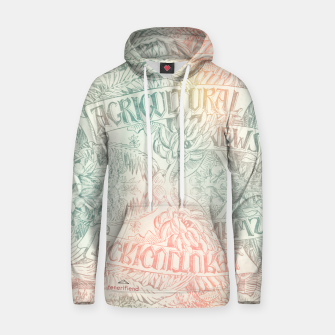 Thumbnail image of Agricultural! Cotton hoodie, Live Heroes