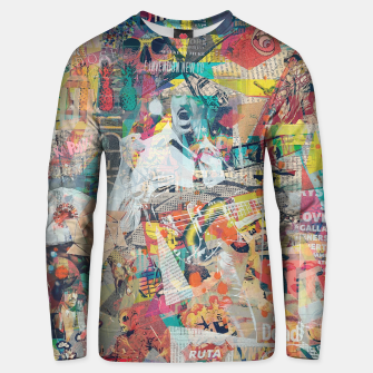 Thumbnail image of Under Construction Cotton sweater, Live Heroes