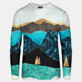 Miniatur Teal Afternoon Cotton sweater, Live Heroes