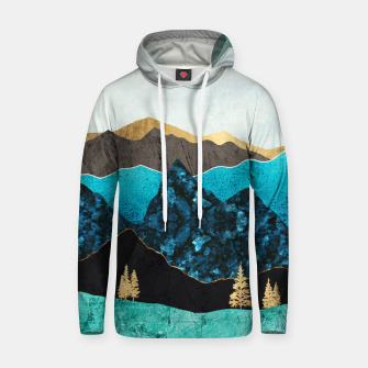 Miniatur Teal Afternoon Cotton hoodie, Live Heroes