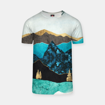 Miniatur Teal Afternoon T-shirt, Live Heroes