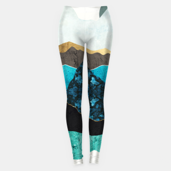 Miniatur Teal Afternoon Leggings, Live Heroes