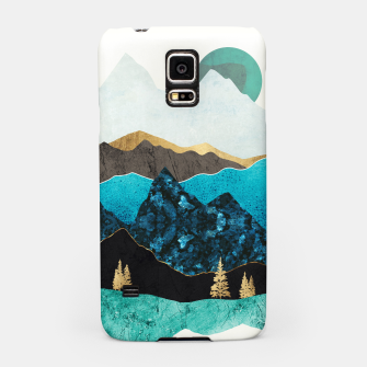 Miniatur Teal Afternoon Samsung Case, Live Heroes