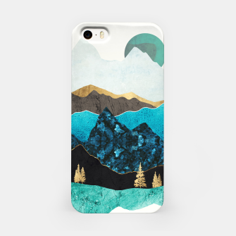 Miniatur Teal Afternoon iPhone Case, Live Heroes
