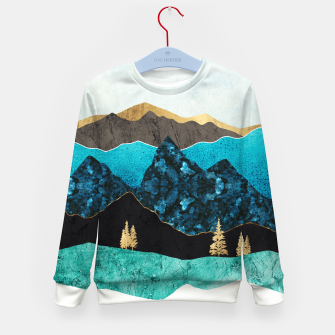 Miniatur Teal Afternoon Kid's sweater, Live Heroes