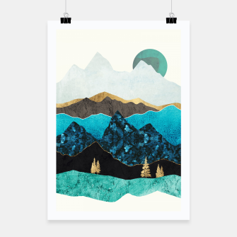 Miniatur Teal Afternoon Poster, Live Heroes