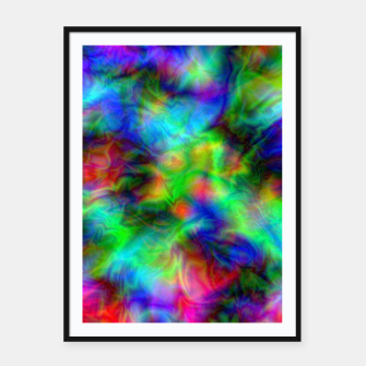 Miniatur Abstract Psychedelia - Framed poster, Live Heroes