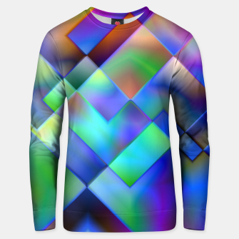 Miniatur Geometric Psychedelia - Cotton sweater, Live Heroes