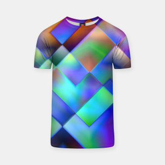 Miniatur Geometric Psychedelia - T-shirt, Live Heroes