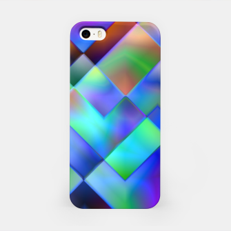 Miniatur Geometric Psychedelia - iPhone Case, Live Heroes