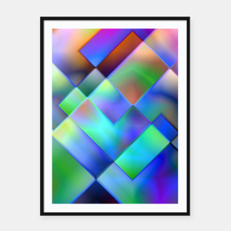 Miniatur Geometric Psychedelia - Framed poster, Live Heroes