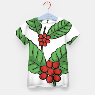 Thumbnail image of Coffee Plant Kid's t-shirt, Live Heroes