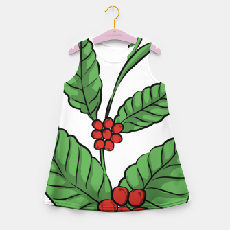 Thumbnail image of Coffee Plant girl's summer dress, Live Heroes