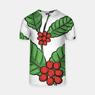 Thumbnail image of Coffee Plant T-shirt, Live Heroes