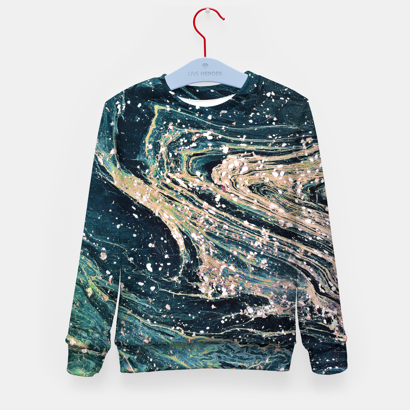 Image of Possible Kid's sweater - Live Heroes