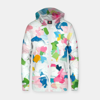 Thumbnail image of Meadow v2 Cotton zip up hoodie, Live Heroes