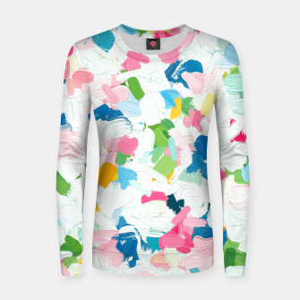 Thumbnail image of Meadow v2 Woman cotton sweater, Live Heroes